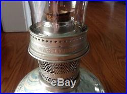 Vintage Aladdin 23 Kerosene Oil Lamp