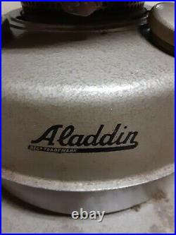 Vintage Aladdin Aladdinette model # 2902 Kerosene Heater Oil Lamp 201