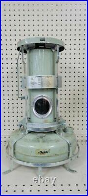 Vintage Aladdin Blue Flame Kerosene Heater Gray Oil Lamp Original