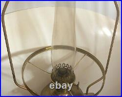 Vintage Aladdin Kerosene Incandescent Lamp Model 5 Complete with Hanger