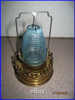 Vintage Aladdin Kerosene Lamp Model 6 Brass -ready To Burn -nice