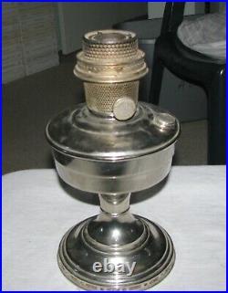Vintage Aladdin Lamp, Model 12, Chrome, withBurner