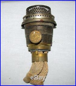 Vintage Aladdin Lamp, Vertique, B-87, Rose Moonstone, withBurner