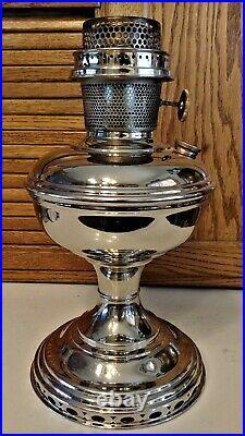 Vintage Aladdin Metal Kerosene Oil Lamp