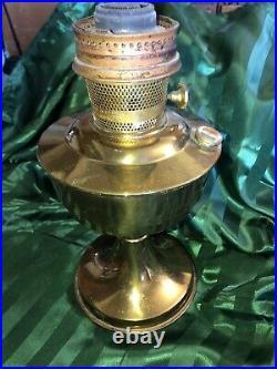 Vintage Aladdin Model 21C England Kerosene Oil Lamp Burner & Base