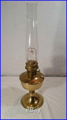 Vintage Aladdin Model 23 Kerosene Oil Lamp Lox-On Version 23.5