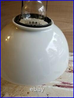 Vintage Aladdin Model #6 Hanging Electrified Kerosene Lamp Good Condition
