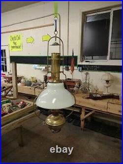Vintage Aladdin Model #6 Hanging Kerosene Lamp Good Condition Fresh Estate Find