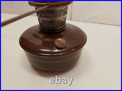 Vintage Aladdin Model B Pedestal Oil Lamp Banquet Kerosene NO Glass/Wick Turner