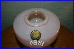 Vintage Aladdin Model B Simplicity Table Lamp Painted Rose Pink