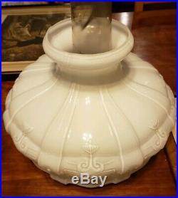 Vintage Aladdin NU-TYPE Model B Rose Mantle 24 Lamp, Chicago, U. S. A