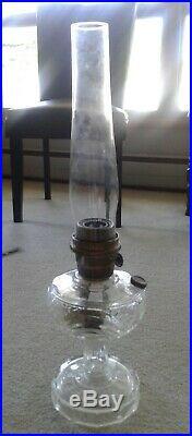 Vintage Aladdin Nu Type Model B Washington Drape Kerosene Lamp With Shade