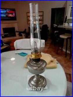 Vintage Aladdin Oil Kerosene Lamp Lantern 24 Tall Chicago USA L4.24.21