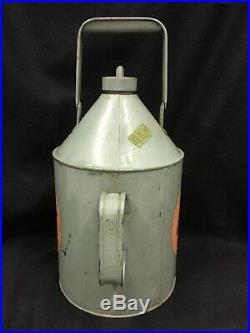 Vintage Aladdin Pink Paraffin Kerosene Can Jug For Antique Hurricane Lamp