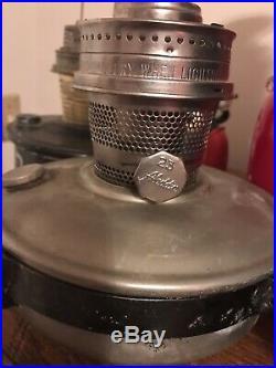 Vintage Aladdin Railroad Caboose Model 23 Kerosene Oil Lamp Wall Bracket