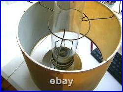 Vintage Aladdin Railroad Caboose Train Model C INDBRAS Kerosene Oil Lamp