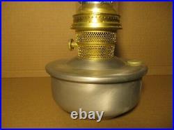 Vintage Aladdin Railroad Model C Kerosene Oil Lamp with Burlap Shade RARE