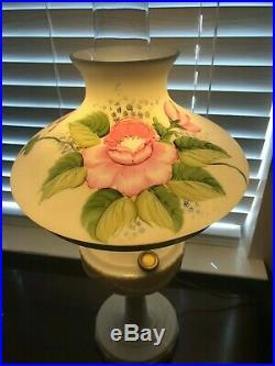 Vintage Aladdin Tall Lincoln Drape Alacite Oil Kerosene Lamp Electrified withshade