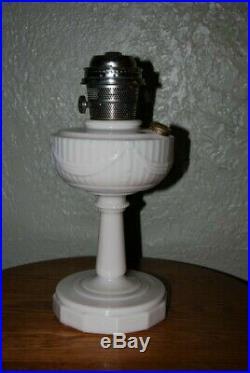 Vintage Aladdin Tall Lincoln Drape Oil Lamp, Alacite, Model C Burner Nashville