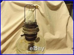 Vintage Aladdin Washington Drape Kerosene Oil Lamp Glass Model B Burner
