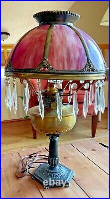 Vintage Antique Aladdin Kerosene Oil Lamp Nu Type Model B