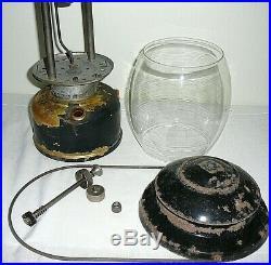 Vintage Antique Aladdin Pressure Lantern Model PL-1 Mantle Lamp Company WWII Era