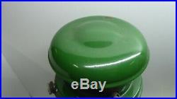 Vintage Bialaddin Model 300x Lantern Pressure Lamp Aladdin Green Enamel Kero Oil