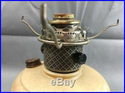 Vintage COLEMAN KERO LITE MANTLE LAMP Model 160 w Shade & Aladdin Chimney