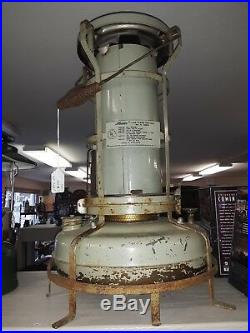 Vintage England Aladdin Lamp Co. Blue Flame Kerosene Space Heater150056RARE