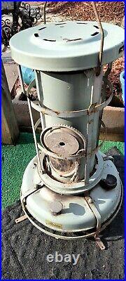 Vintage Gladden Blue Flame Kerosene Heater. Made In England