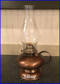 Vintage Kerosene Oil Aladdin Table Lamp with Shade Made America Gregorian