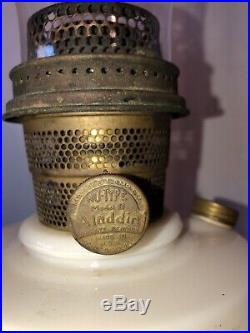 Vintage Lincoln Drapes Aladdin Alacite Lamp Kerosene Lamp