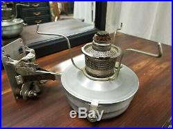 Vintage Original Aladdin #21 C Railroad Caboose Oil Kerosene Lamp Wall Sconce Mt