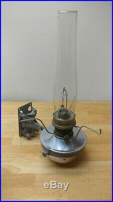 Vintage Original Aladdin #23 Railroad Caboose Oil Kerosene Lamp