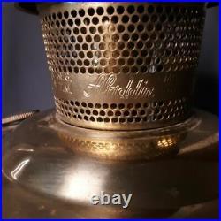 Vintage Original Aladdin Kerosene Lamp Model #23 With Chimney