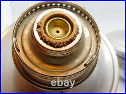 Vintage PAIR Aladdin Model 23 Railroad Caboose Kerosene Oil Lamp With Brackets
