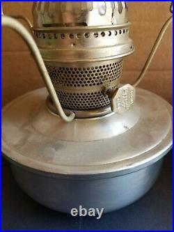 Vintage Pair Aladdin Railroad Caboose Train Model C INDBRAS Kerosene Oil Lamps