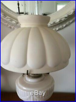 Vintage Pink Alacite Aladdin Lamp
