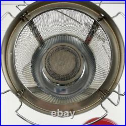 Vintage RARE Aladdin J180 PET Kerosene Red Space Heater Lamp Gorgeous