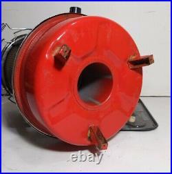 Vintage RARE Aladdin J180 PET Kerosene Red Space Heater Lamp Stove