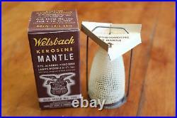 Welsbach Old Style #100 Mantles for Aladdin Kerosene Lamp Models 3-11 NOS x7