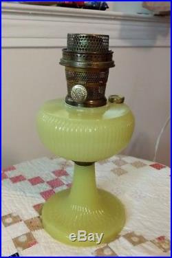 Yellow Moonstone Vertique Aladdin Lamp Model B-88